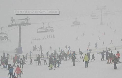 Snowbound Scenes From The Biggest Aussie Blizzard of
