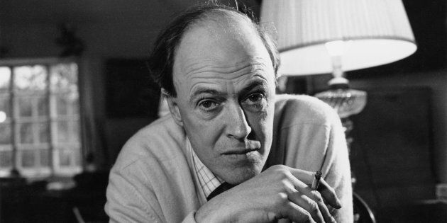 British writer Roald Dahl in