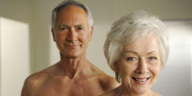 semi nude seniors