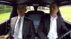 President Obama Joins Jerry Seinfeld For A Chat And A