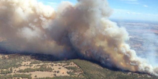 WA Bushfires: Man Charged In Relation To A Fire University Evacuated, One Home