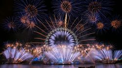 See All The Incredible New Year's Celebrations Around The