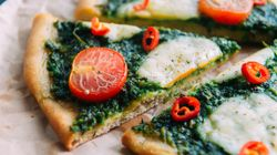 This Green Pizza Is The Tastiest Way To Eat More
