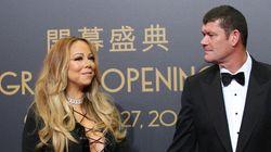 James Packer, Mariah Carey Make Flying Visit To