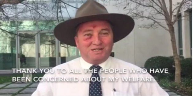 Barnaby Joyce Gives Skin Cancer Warning After Having Spots
