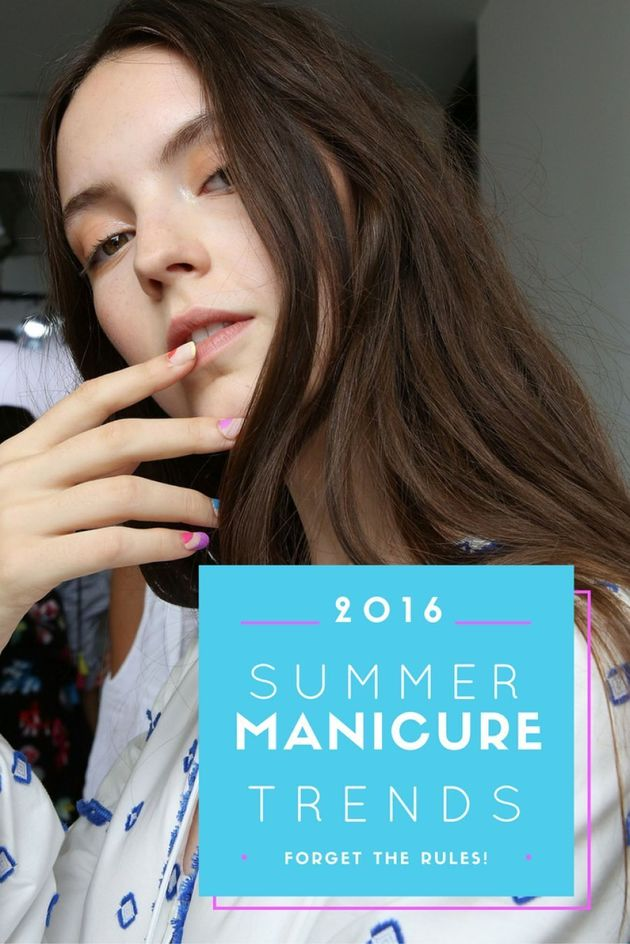 All Of The Colour: The Manicure Trends Coming This