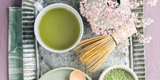 There's more than one way to use the Japanese green tea powder.