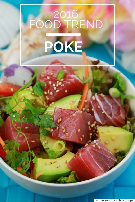 Poke Is The Latest Food Trend Out Of