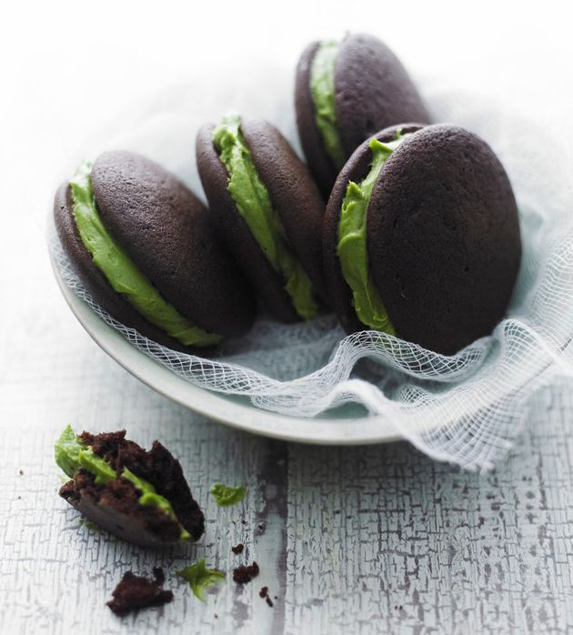 Matcha desserts are huge in Japan, and matcha mania has spread all over the