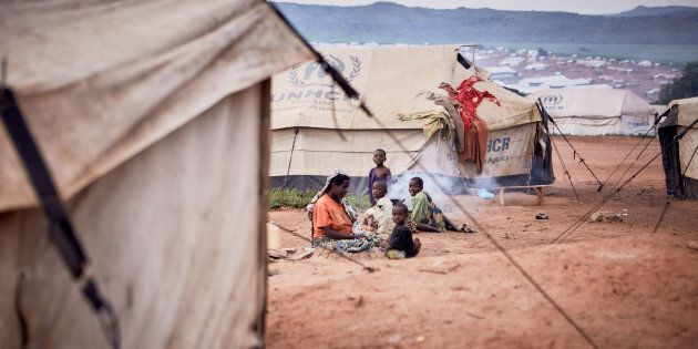 Rwanda. Mahama Refugee Camp. March 30,
