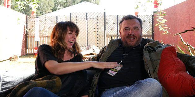 Splendour producers Jessica Ducrou and Paul