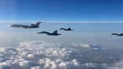 First Russian Planes Leave
