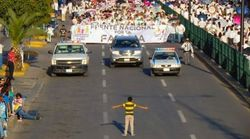 Stunning Photo Shows Boy Standing Up To Thousands Of Anti-Gay