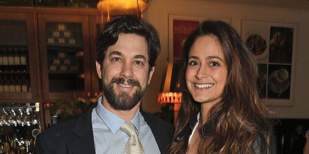 Adam Garcia and Nathalia