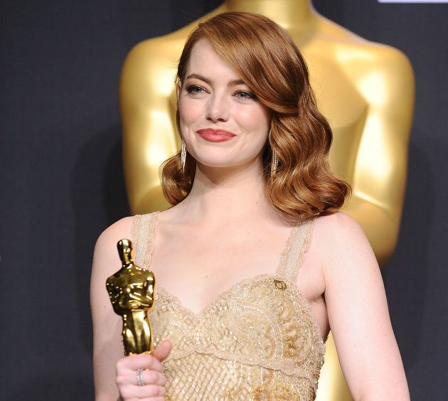 Emma Stone often switches between bright blonde and deep red, and anywhere in-between.