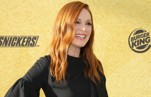 Julianne Moore is red hair