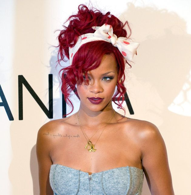 Rihanna has been many shades of red, but this is our fave.