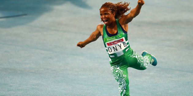 Shame ballet's not a Paralympic sport because she'd win that