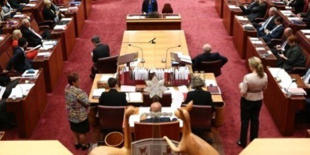 Tuesday In The Senate Was Like Orating In The Middle Of A