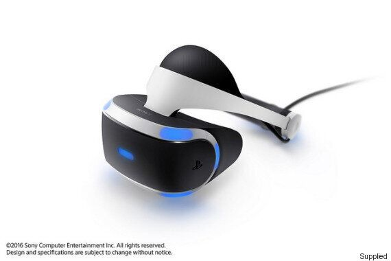 Playstation's VR Headset Is Coming In