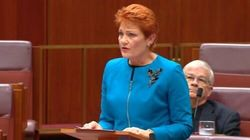 Pauline Hanson Says Australia In Danger Of Being 'Swamped By