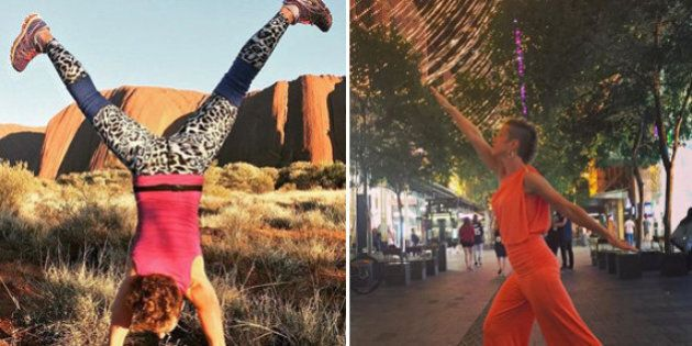 Traveller Tatyana Leonov Is Not The Best At Yoga, And That's Why We Love Her Instagram Account