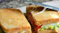 The Most Delicious Grilled Cheese