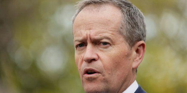 Labor leader Bill Shorten is talking tough on