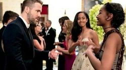How To Fangirl, As Illustrated By Sasha Obama And Ryan