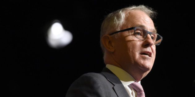 Malcolm Turnbull, Australia's prime minister, speaks during an economic forum hosted by the Melbourne...