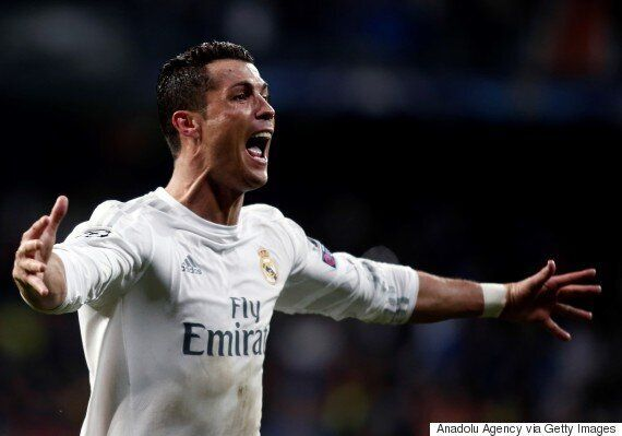 Cristiano Ronaldo Scores Hat Trick To Keep Real Madrid Alive in Champions League, Because He's Cristiano