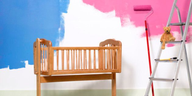 Preparing nursery for new born