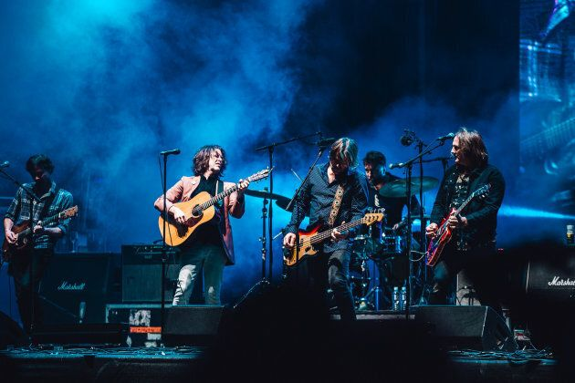 Powderfinger reunite for the first time in