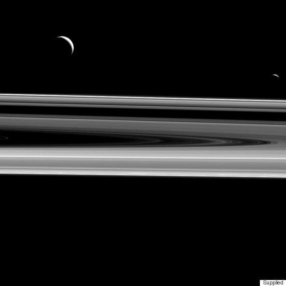 Saturn's Spectacular Rings Detailed In NASA