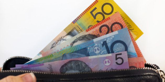 Australian Money Notes in