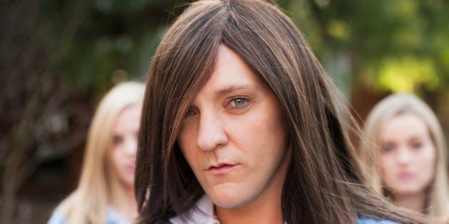 Ja'mie knows how to get her game-on-moles face