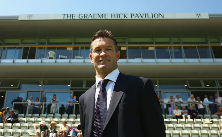 He did such good things for his county Worcestershire, they named a stand after him.