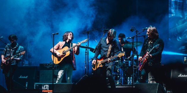 The Story Behind Powderfinger's Surprise Splendour