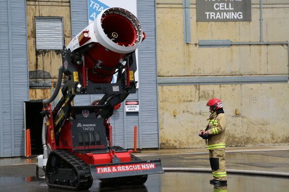 Firefighting Robot Bulldozer TAF20 Launched In