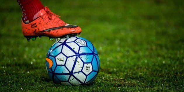 GUANGZHOU, CHINA - MARCH 16: Ball detail during the AFC CHampions League match between Guangzhou Evergrande...