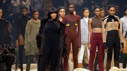Kanye West Had The Most Diverse Show At Fashion