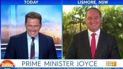 Barnaby Joyce Is Temporarily PM, But Don't Fear, He Hasn't Got The Nuclear