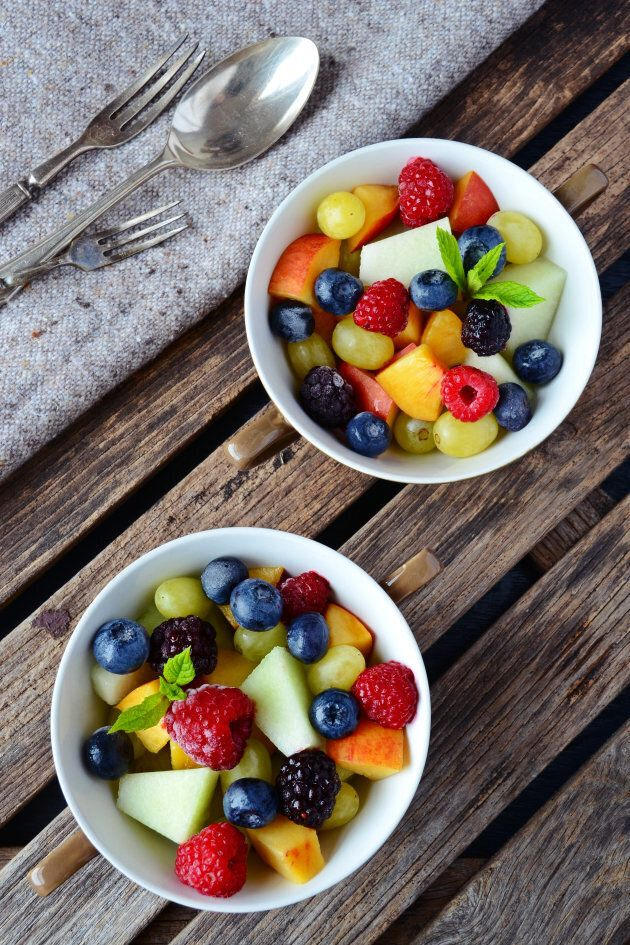 The natural sugars in fruit are processed differently in the body.