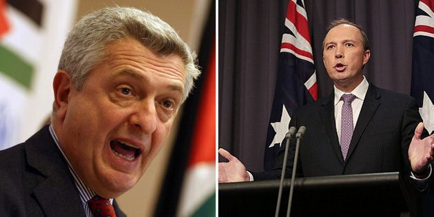 The UN refugee agency isn't happy with the Australian government.