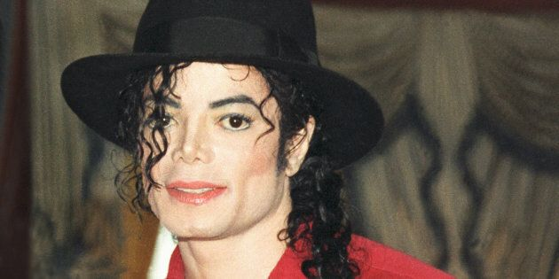 Michael Jackson in 1996.