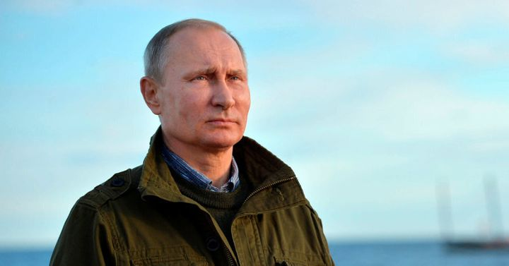 Looking for love and leadership with Russian President Vladimir Putin in Bali.