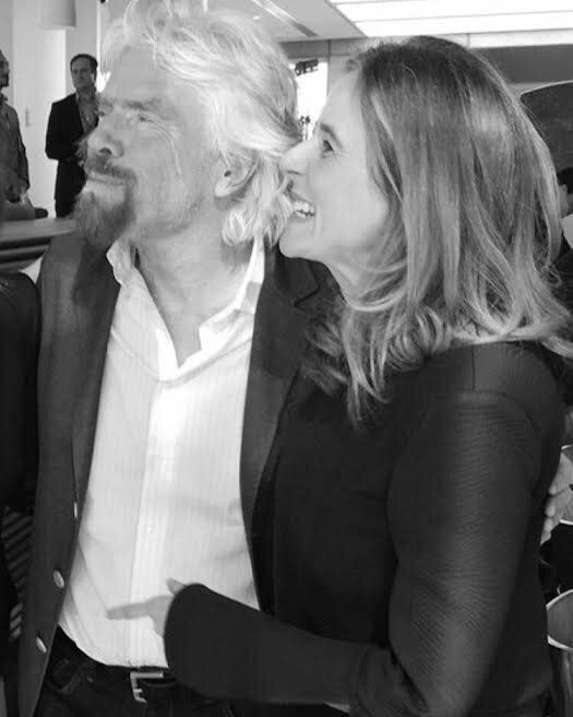 Richard Branson & Lisa Messenger