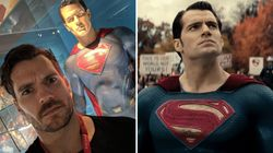 DC Are Going To Digitally Remove Henry Cavill's Mustache In 'Justice