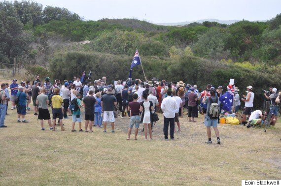 Police Outnumbers Crowd In Lacklustre Cronulla Riots 10-Year Reunion
