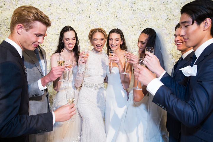 Vera Wang Bride launched their Bridal Spring 2017 Collection in Sydney on Wednesday.